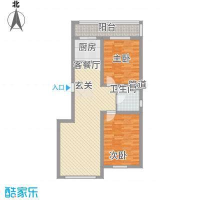 风华新苑1.88㎡2户型