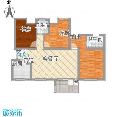 中铁・缇香郡6号楼A1户型