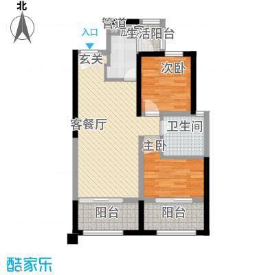 中铁・缇香郡5号楼D2户型