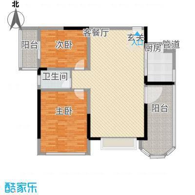金裕大厦152.00㎡户型3室