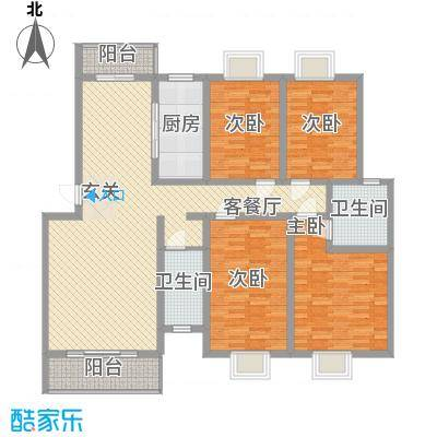 裕丰园户型4室
