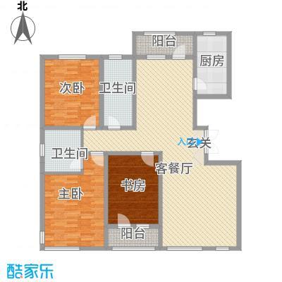 绿地新里中央公馆163.40㎡A2栋f户型3室2厅1卫1厨