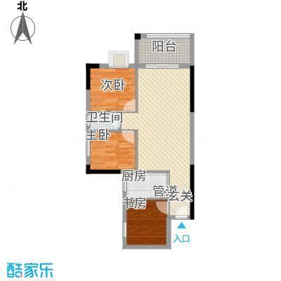 龙日花苑户型2室