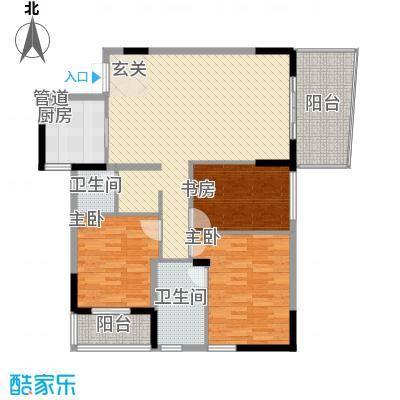 龙日花苑户型4室