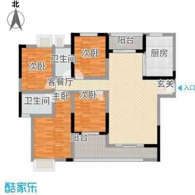 东南首府户型3室