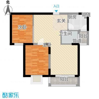 翠园芳邻83.57㎡12#B、C户型2室2厅1卫1厨
