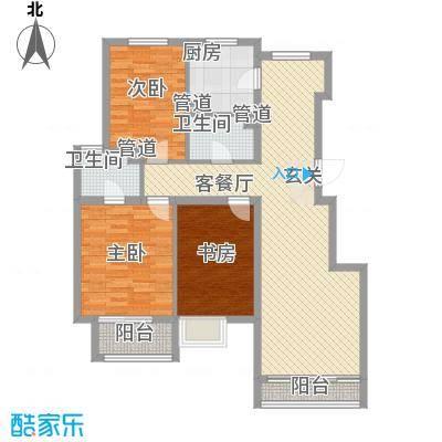 胜利新村82.00㎡户型3室