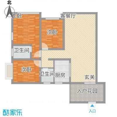 胜利新村81.00㎡户型3室