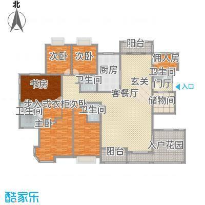 天徽天鹅湖9号户型5室
