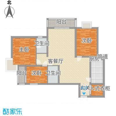 湖东景园户型3室