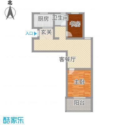 天徽天鹅湖9号户型2室