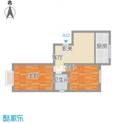 财政厅宿舍2户型