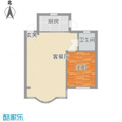 城建鑫宇园73.00㎡户型