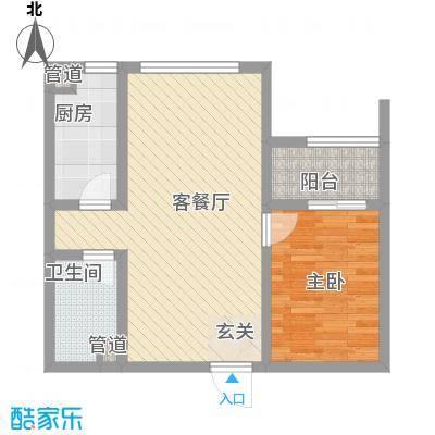 发祥巷I户型1室