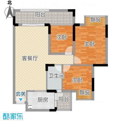威龙花园户型3室