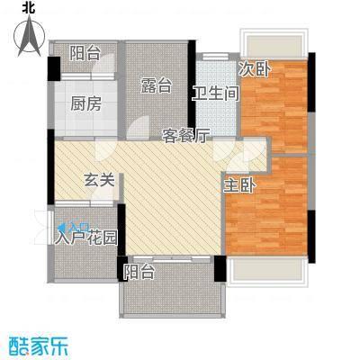 东鑫大厦户型2室