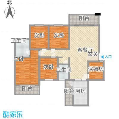东鑫大厦户型4室