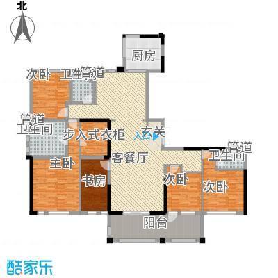 新湖武林国际公寓3号楼户型