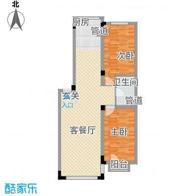 亿洲百旺郦城2.63㎡户型