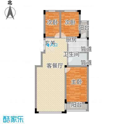亿洲百旺郦城11.82㎡户型