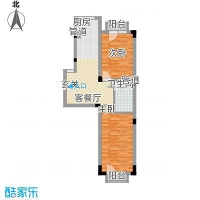 亿洲百旺郦城6.48㎡户型