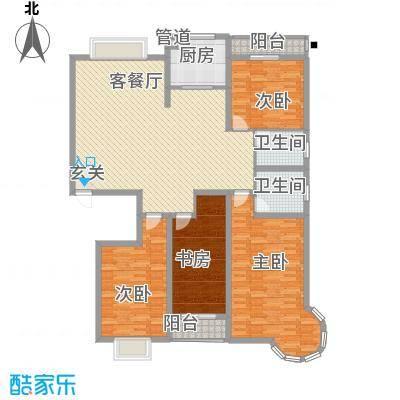 碧海绿洲18.00㎡F户型4室2厅2卫1厨