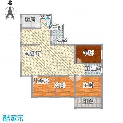 金地苑158.10㎡太原户型