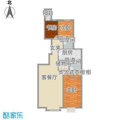 恩和家园181.09㎡恩和家园户型图4#六单元E3户型3室2厅2卫1厨户型3室2厅2卫1厨-副本