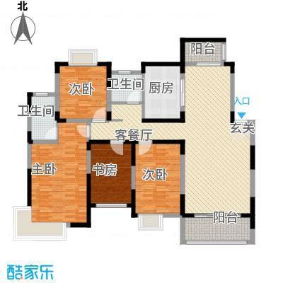 香樟园147.00㎡户型4室