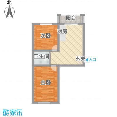 美韵星海6.00㎡二期C户型1室1厅1卫