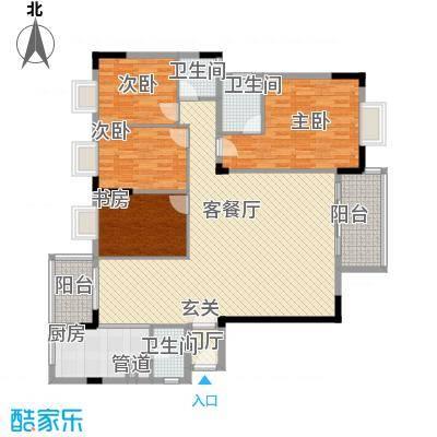名苑山庄名苑户型4室2厅2卫1厨