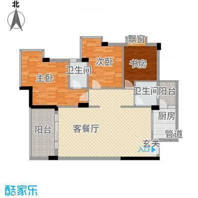 富苑新村户型3室