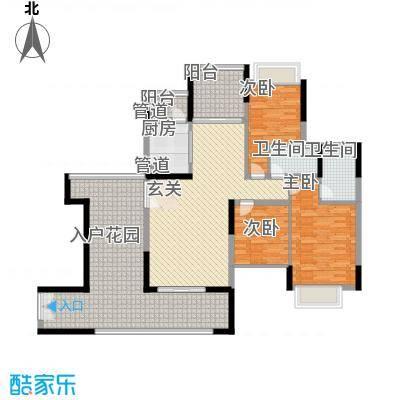龙翔苑157.00㎡户型4室