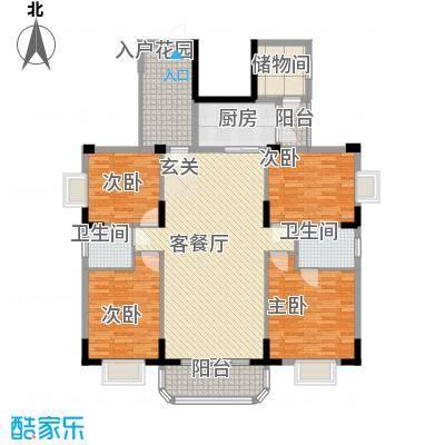 御景华城可园户型4室