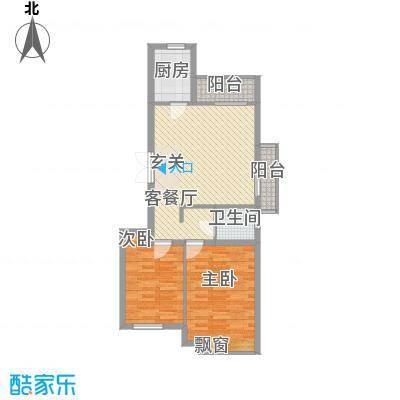 国泉城2.16㎡E3户型