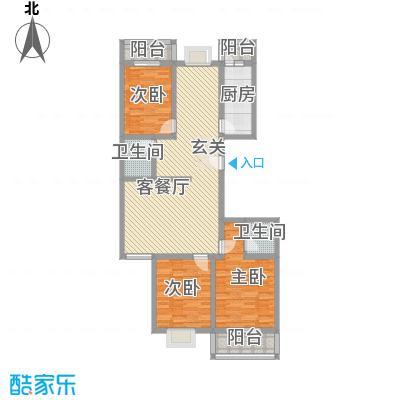 亲贤一品14.00㎡户型3室