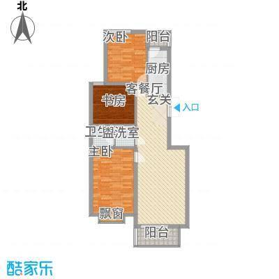 国泉城111.74㎡C2户型