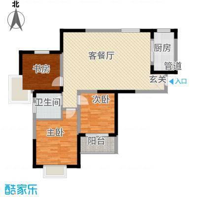 金水湾花园户型3室