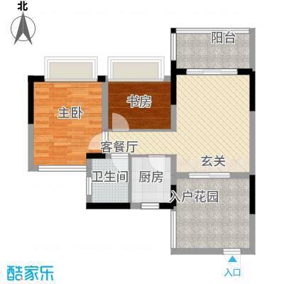 聚福豪苑148.00㎡户型4室