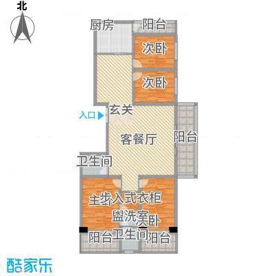 天和学府苑25.36㎡C户型4室2厅2卫