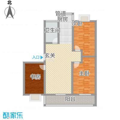 施井西苑三居户型3室