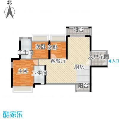 丰湖村户型3室