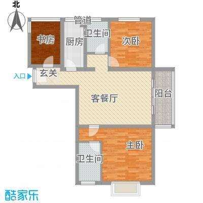 东亚国际城118.00㎡8号楼户型
