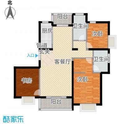 东亚国际城147.22㎡7号楼户型