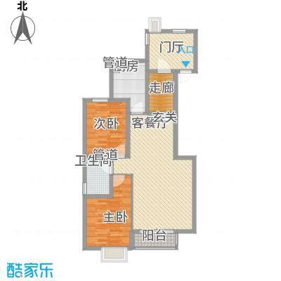 东亚国际城18.00㎡户型2室
