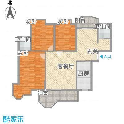 锦绣沙溪8.00㎡花园户型3室