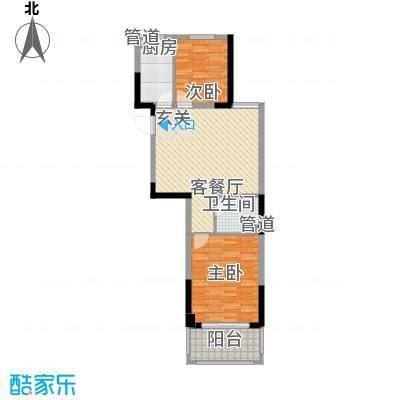 外海蝶泉山庄87.00㎡户型2室