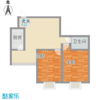 长风尚都户型2室