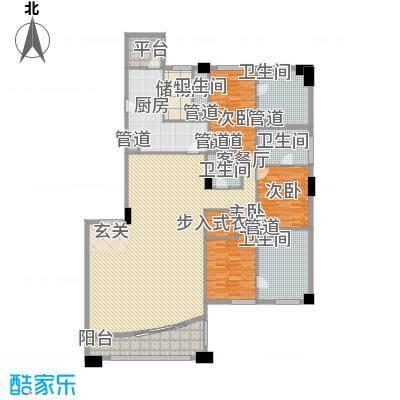 富国高银高层4号楼3-24层02户型