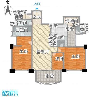 富国高银高层3号楼2-26层02户型